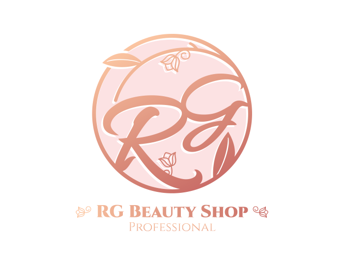 de owl, logo design, RG Beauty Shop