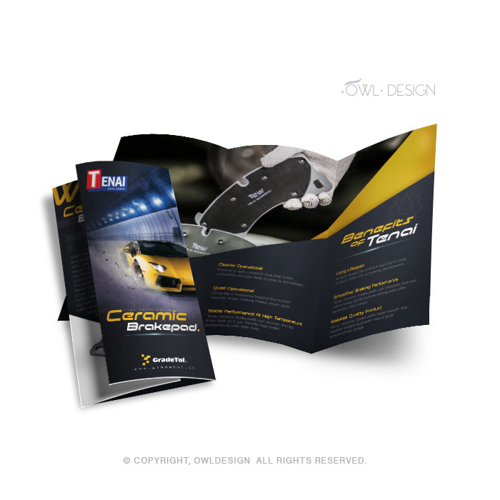 Owl Design Brochure - Teluk Intan Design
