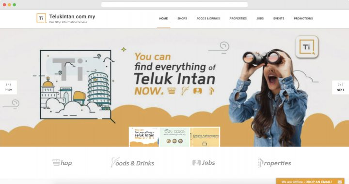 de owl, website, telukintan.com.my