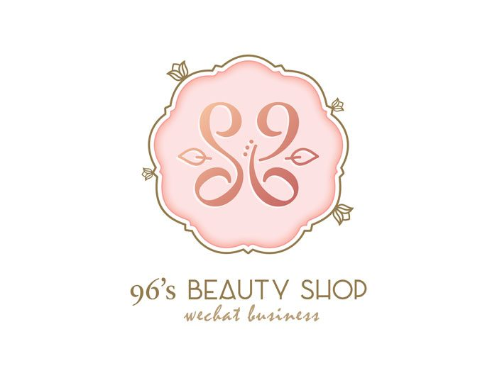 de owl, logo design, 96's Beauty Shop