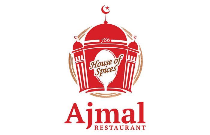 de owl, logo design, Ajmal Restaurant