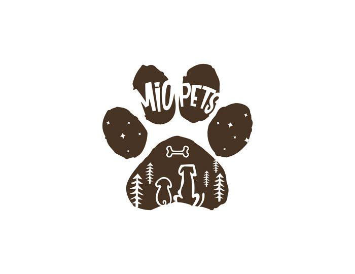 de owl, logo design, Mio Pets