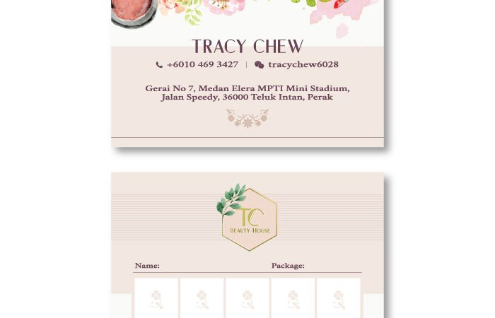 de owl, business card, Tracy Chew