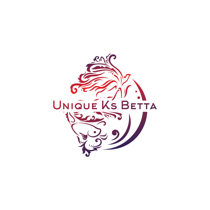 de owl, logo design, Unique Ks Betta