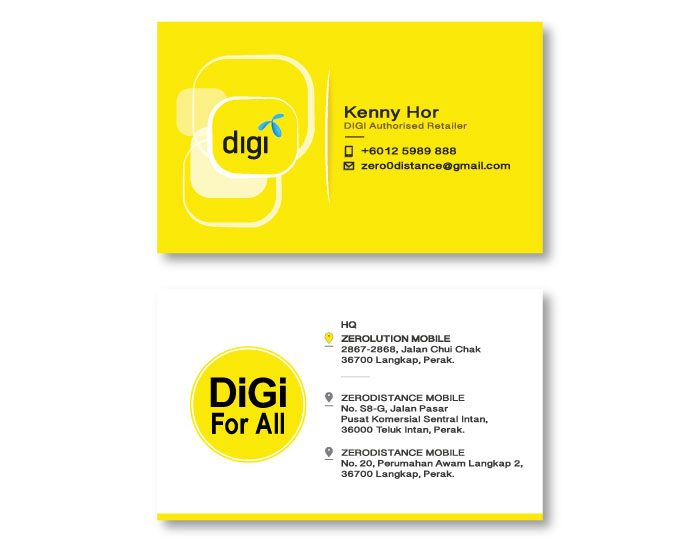 de owl, business card, Digi