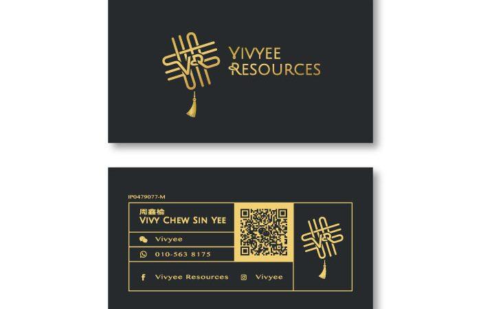 de owl, business card, Vivyee Resources