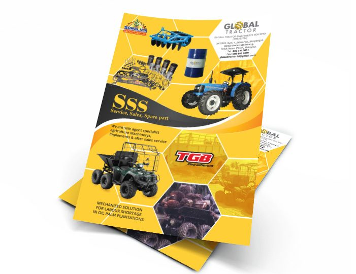 de owl, flyer, Global Tractor