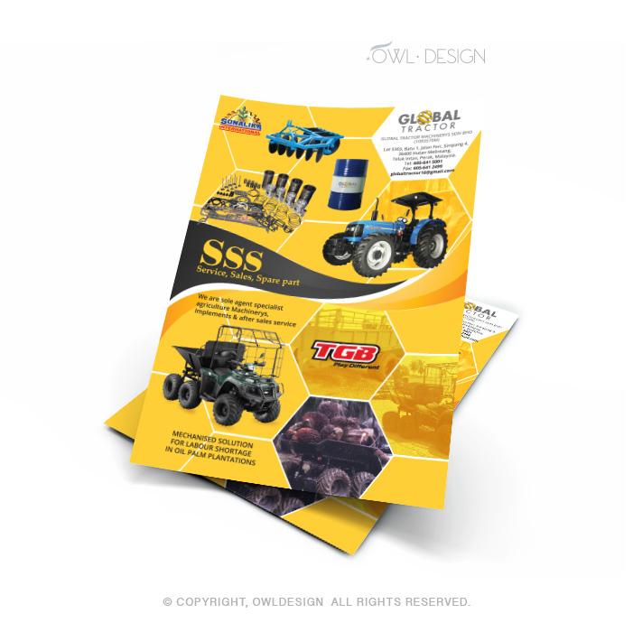 de owl, flyer, Global Tractor