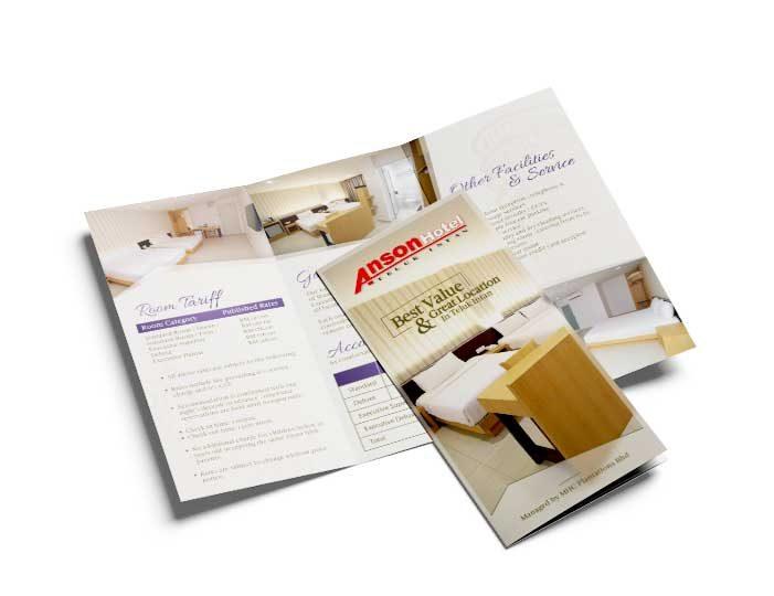 de owl, brochure, Anson Hotel